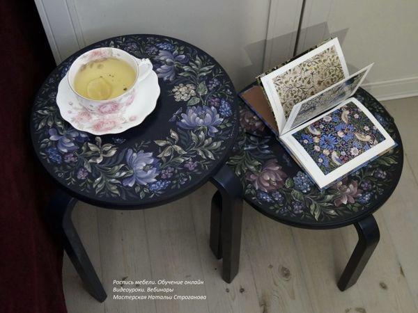 Роспись мебели. Обучение. Примеры работ в интерьере | Ярмарка Мастеров - ручная работа, handmade