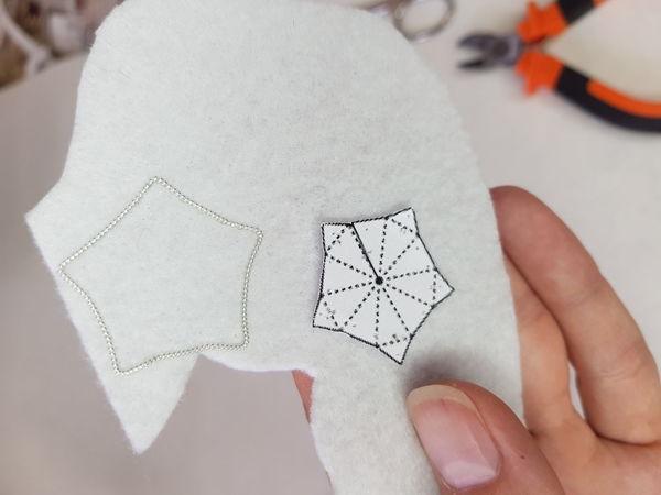 Вышиваем идеальный контур канителью | Ярмарка Мастеров - ручная работа, handmade