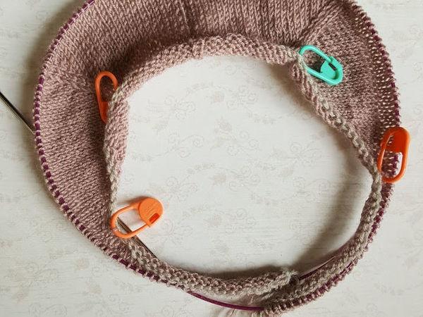 Временный наборный край крючком | Ярмарка Мастеров - ручная работа, handmade