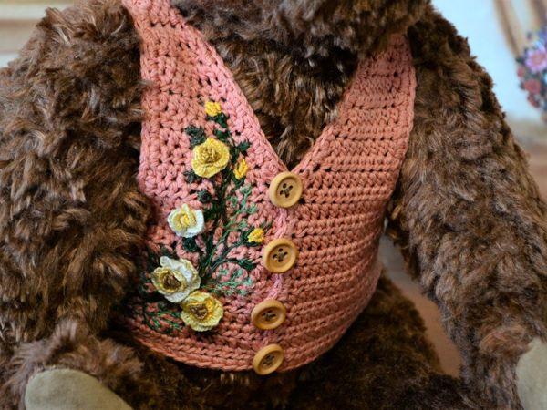 Жилет — лучше для медведя нет! | Ярмарка Мастеров - ручная работа, handmade