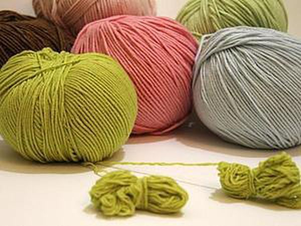 How to Divide a Thick Yarn into Several Threads | Livemaster - handmade