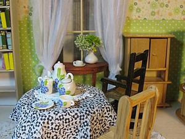 Кукольный домик. | Ярмарка Мастеров - ручная работа, handmade