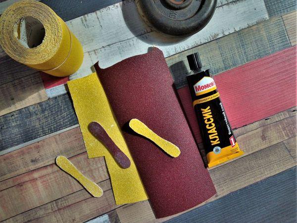 Как сделать палочку-шлифовалочку, быстро и просто | Ярмарка Мастеров - ручная работа, handmade
