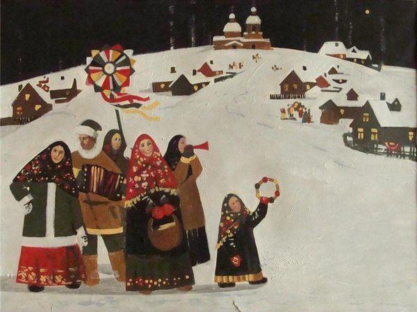 «Коляда, коляда...». Обходные обряды зимних праздников у разных народов | Ярмарка Мастеров - ручная работа, handmade