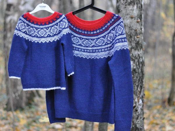Три самых легендарных жаккардовых свитера Норвегии | Ярмарка Мастеров - ручная работа, handmade