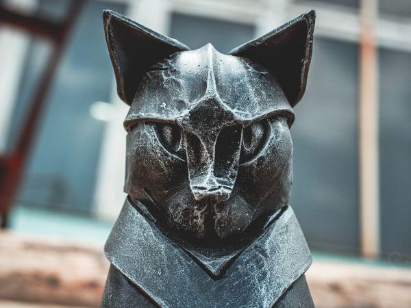 Скульптура на заказ: Кошки | Ярмарка Мастеров - ручная работа, handmade