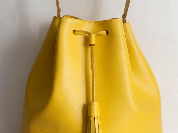 Мастер-класс по пошиву сумки из кожи | Ярмарка Мастеров - ручная работа, handmade