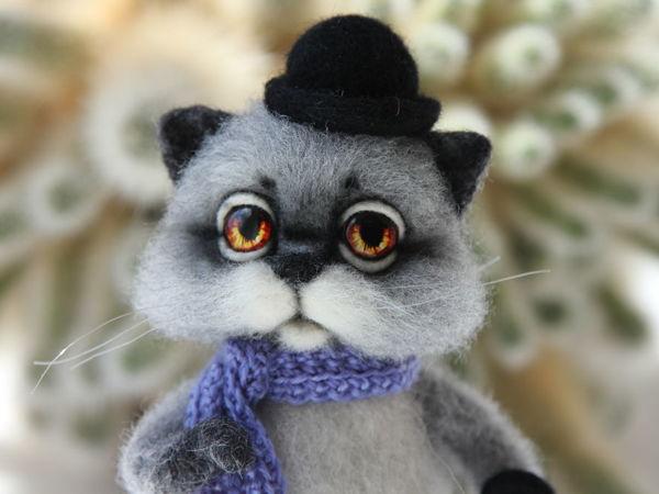Новый кот в моем магазине!   Ярмарка Мастеров - ручная работа, handmade