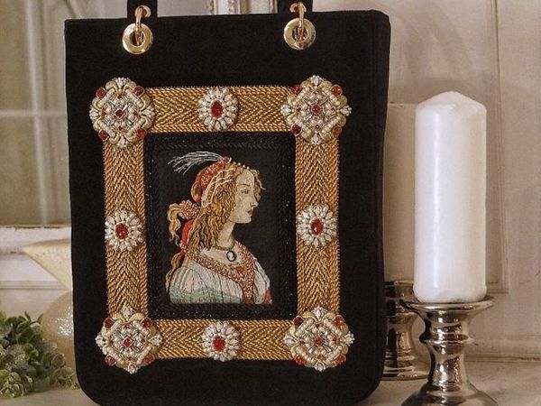 Почему я вышиваю такие сумки?  «Боттичелли» | Ярмарка Мастеров - ручная работа, handmade