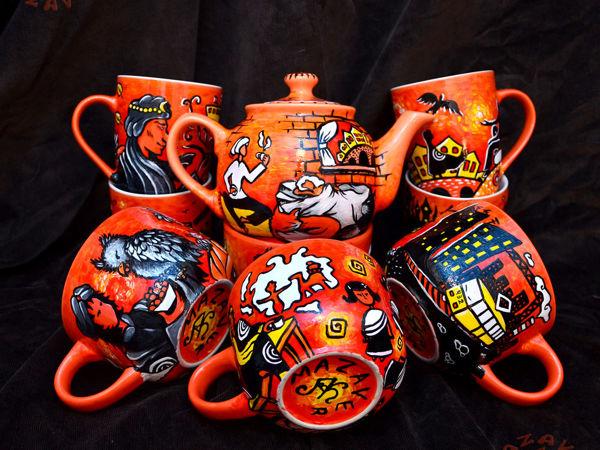 Расписываем керамику по мотивам книг Макса Фрая | Ярмарка Мастеров - ручная работа, handmade
