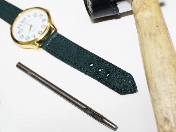 Изготовление ремешка для часов из натуральной кожи | Ярмарка Мастеров - ручная работа, handmade