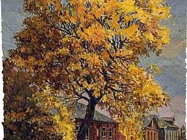 Юрковка: рисование листьями   Ярмарка Мастеров - ручная работа, handmade