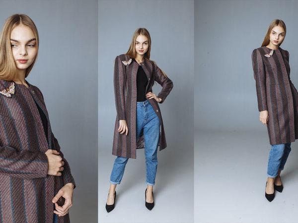 Пальто премиум Этро | Ярмарка Мастеров - ручная работа, handmade