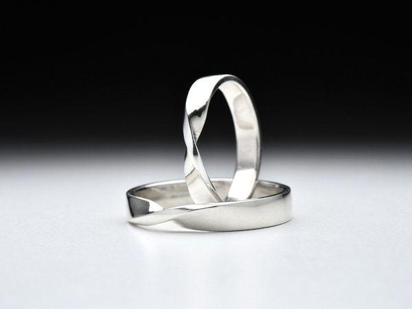 Новинка! Парые кольца серебра Бесконечность. | Ярмарка Мастеров - ручная работа, handmade