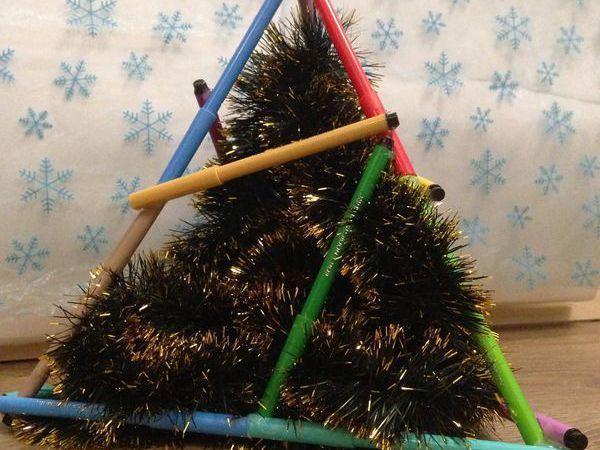 Создаем с детьми эко-ёлку   Ярмарка Мастеров - ручная работа, handmade
