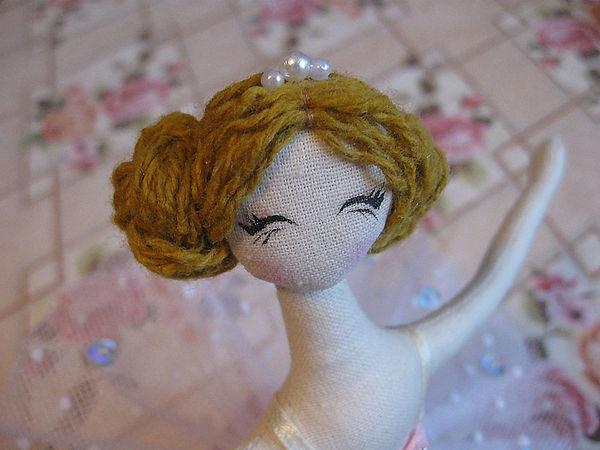 Шьём куклу тряпиенса балерину. Часть 2   Ярмарка Мастеров - ручная работа, handmade