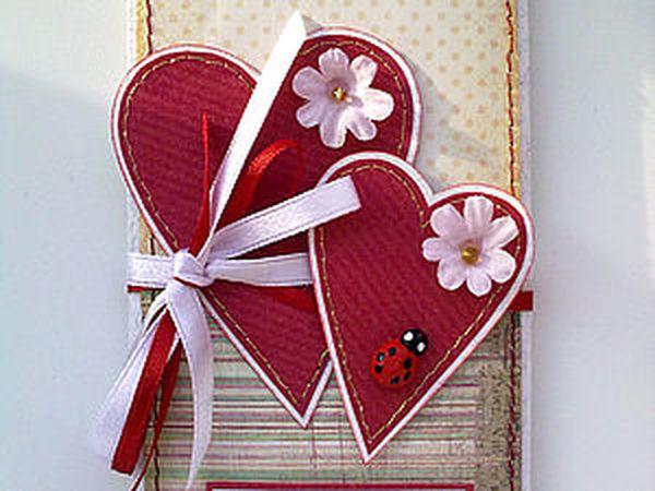 Скрап открытка с днем святого валентина, лет