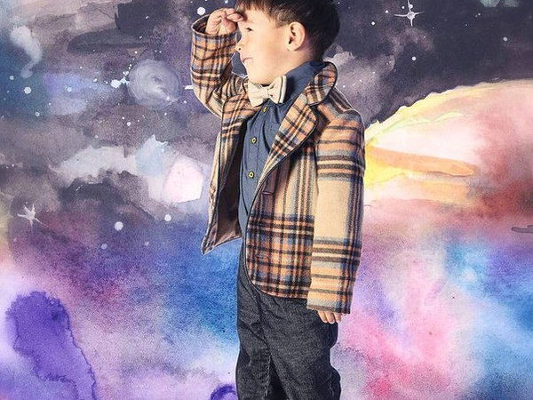 Детские галстуки бабочки | Ярмарка Мастеров - ручная работа, handmade