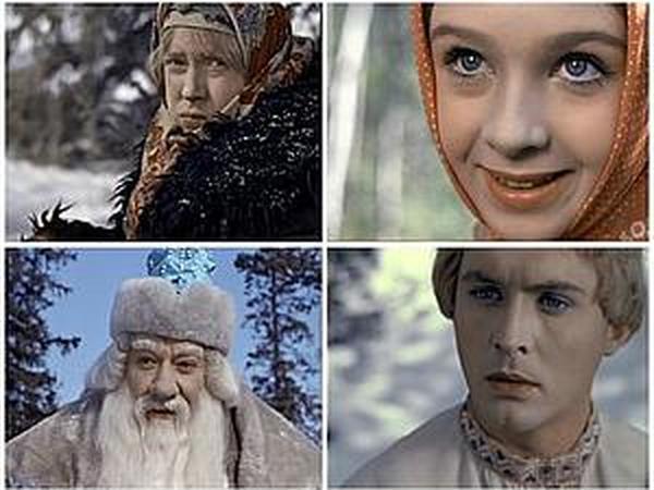 Морозко герои сказки
