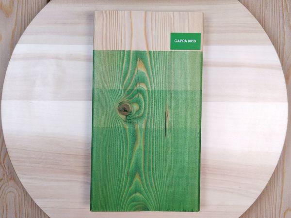 Видеокаталог цветных масел для дерева GAPPA 0019 (зеленый яркий) | Ярмарка Мастеров - ручная работа, handmade