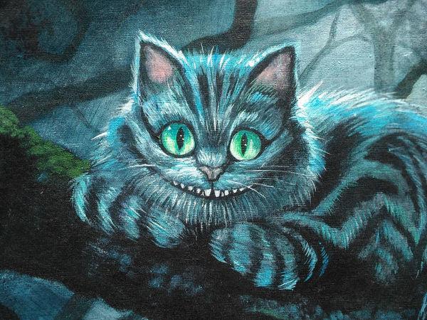 Мудрость от Чеширского кота   Ярмарка Мастеров - ручная работа, handmade