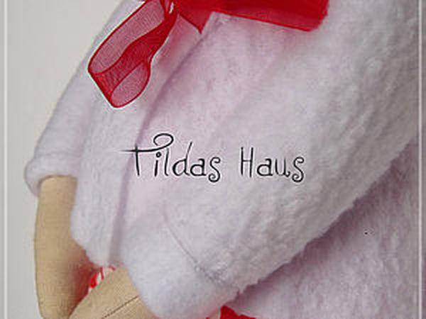 Мастер-класс беременная Тильда. Часть 3: шьем носочки, обувь, делаем прическу, наводим красоту | Ярмарка Мастеров - ручная работа, handmade