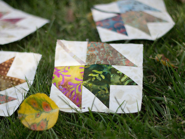 Learn To Make Patchwork Block ''Maple Leaf''   Livemaster - handmade