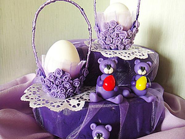 Подготовка к Пасхе. Подставка под яйцо из яичной кассеты. | Ярмарка Мастеров - ручная работа, handmade