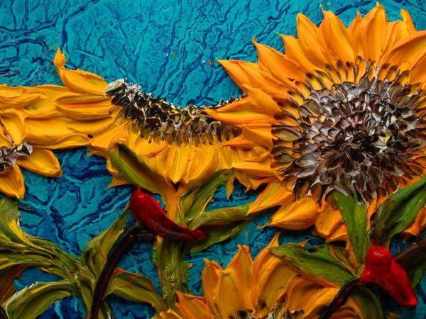 Скульптуры краской: объемные картины Джастина Геффри   Ярмарка Мастеров - ручная работа, handmade