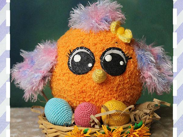 Вяжем пасхальное яйцо быстро и легко | Ярмарка Мастеров - ручная работа, handmade