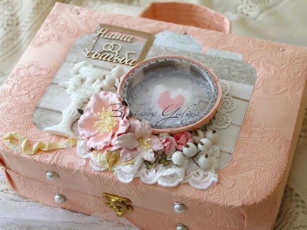 Альбом чемодан  «Старый парк»  свадебный | Ярмарка Мастеров - ручная работа, handmade