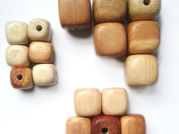 БОЛЬШАЯ скидка на кубики из можжевельника   Ярмарка Мастеров - ручная работа, handmade