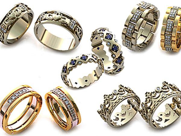 Значение драгоценных камней в обручальных кольцах   Ярмарка Мастеров - ручная работа, handmade