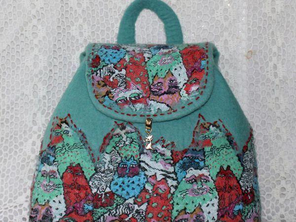 МК по мокрому  валянию сумки 12 ноября    г. Москва. | Ярмарка Мастеров - ручная работа, handmade