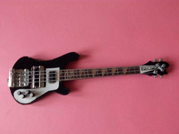 Мастер-класс по изготовлению миниатюрной гитары для куклы | Ярмарка Мастеров - ручная работа, handmade