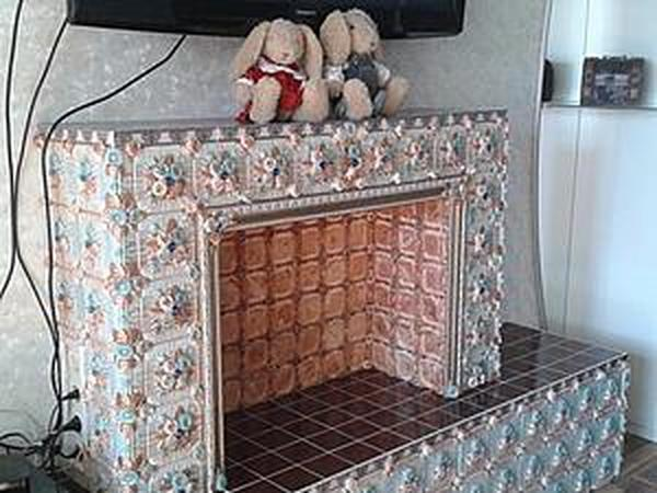 Мастер-класс: Фальш-камин | Ярмарка Мастеров - ручная работа, handmade