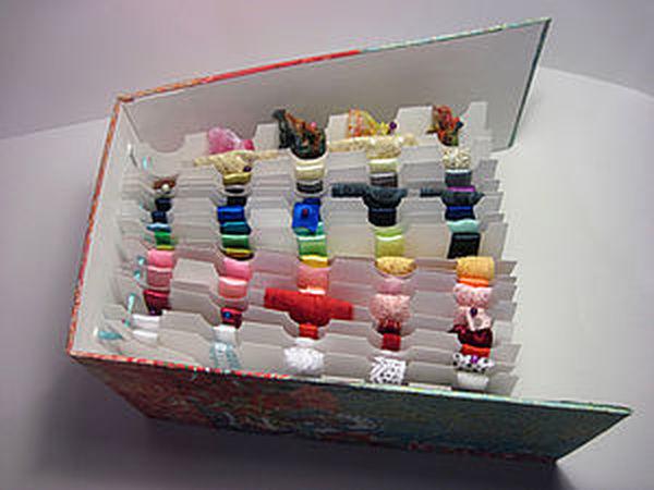 Альбом для хранения ленточек и кружева   Ярмарка Мастеров - ручная работа, handmade