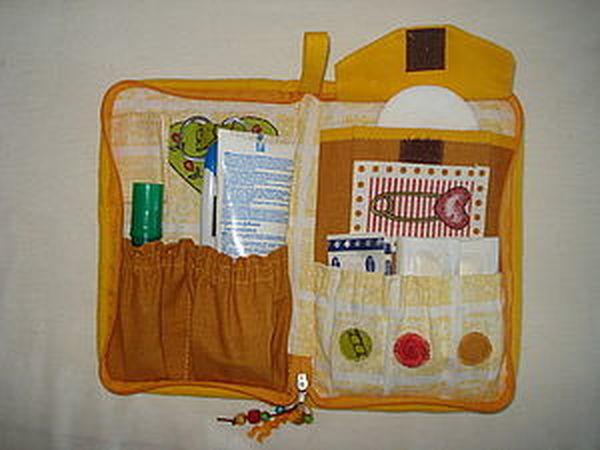 Аптечка для прогулок с детьми   Ярмарка Мастеров - ручная работа, handmade