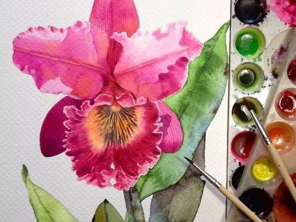 Watercolour Virtuoso: Kitipong Ti | Livemaster - handmade