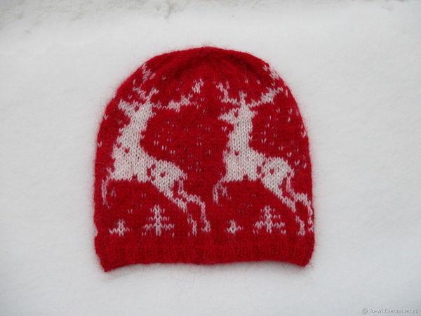 Благотворительная лотерея на новогоднюю шапку   Ярмарка Мастеров - ручная работа, handmade