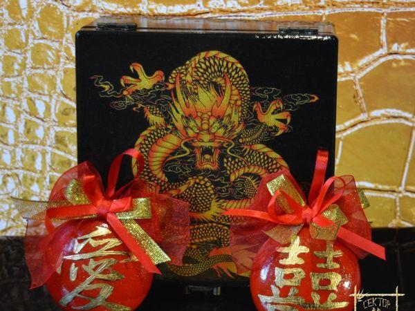 Шкатулка ручной работы  «Дракон фен шуй» , Год Дракона | Ярмарка Мастеров - ручная работа, handmade