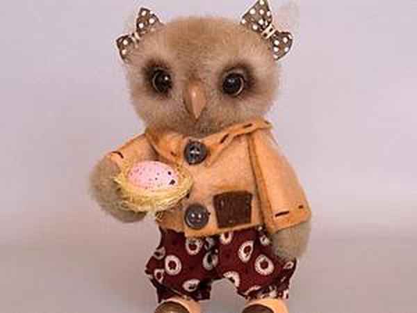 Мастер-класс: сова с гнездышком   Ярмарка Мастеров - ручная работа, handmade