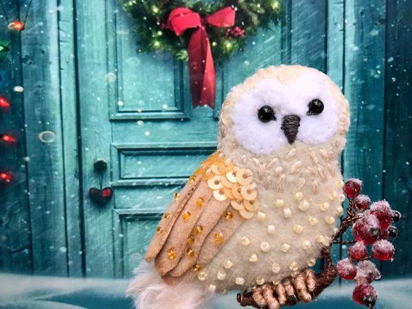 Учимся делать декоративный снег | Ярмарка Мастеров - ручная работа, handmade