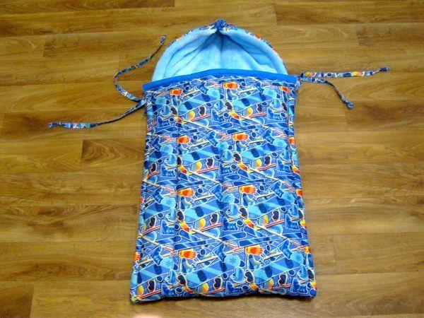 Шьём зимний конверт-трансформер для новорожденного | Ярмарка Мастеров - ручная работа, handmade