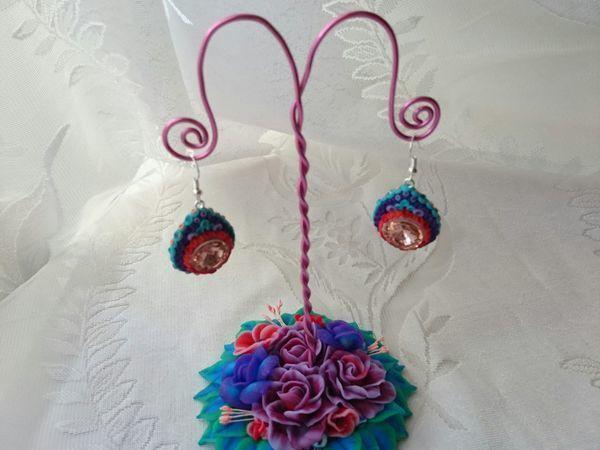 Видео мастер-класс: мастерим из полимерной глины цветочную подставку для украшений | Ярмарка Мастеров - ручная работа, handmade