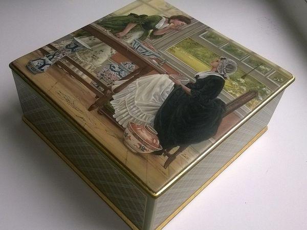Украшаем лаковой миниатюрой шкатулку для хранения саше | Ярмарка Мастеров - ручная работа, handmade