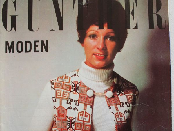 Gunther Moden -старый журнал мод- 1/ 1971   Ярмарка Мастеров - ручная работа, handmade