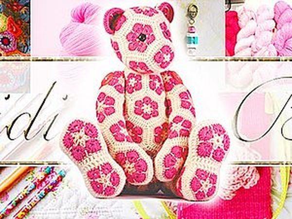 Heidi Bears и ее чудесные вязаные крючком игрушки | Ярмарка Мастеров - ручная работа, handmade