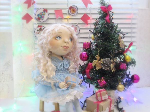 Маруся и сказочная ночь. куклы от Милы. | Ярмарка Мастеров - ручная работа, handmade