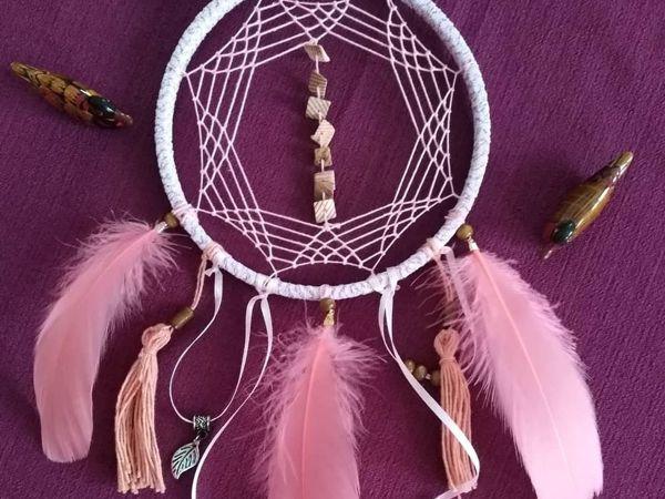 Плетение «Ловца снов» оригинальным способом | Ярмарка Мастеров - ручная работа, handmade